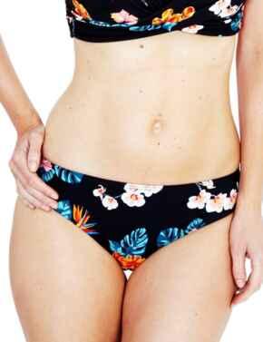Lepel Tropical Bikini Pant 175573  - Black/Print