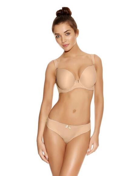Freya Deco Moulded Plunge Bra AA4234 - Nude