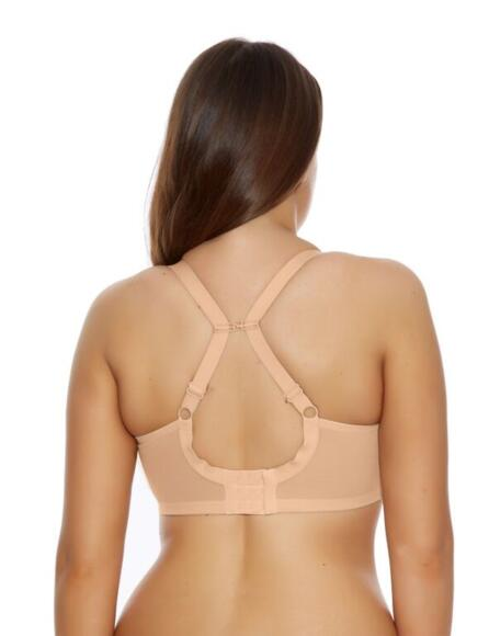 Elomi Energise Sports Bra.  High Impact, Multiway 8041 - Nude