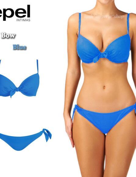 Lepel Bow Push Up Bikini Top LE1356600 - New Blue