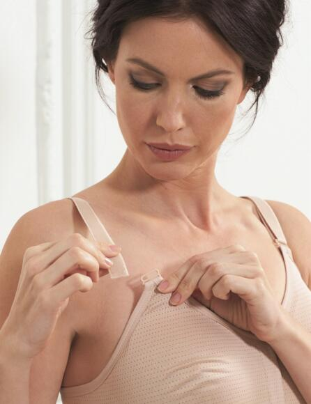Royce Silver Post Surgery Bra Style 1008 - Skintone