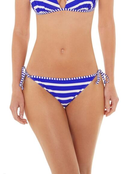 Lepel Riviera Tie Side Bikini Brief/Pant 160072 - Blue/White