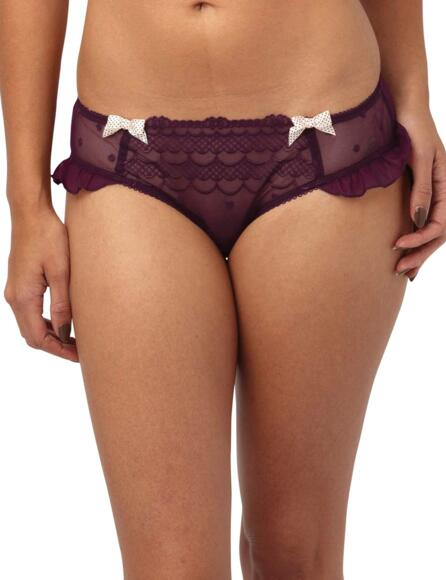 Panache Cleo Marcie Brief 6832 - Burgundy