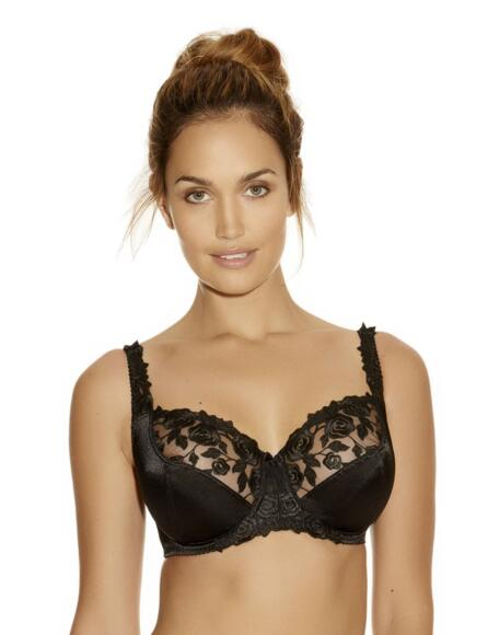 Fantasie Belle Underwired Balcony Bra FL6010 - Black