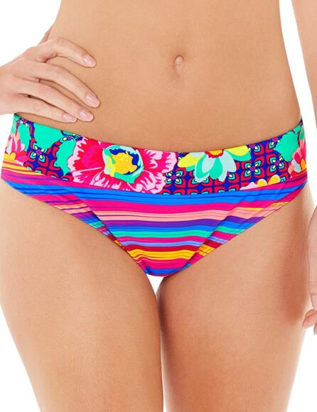 Lepel Sun Kiss Fold Top Bikini Pant 1571790 - Pink Multi