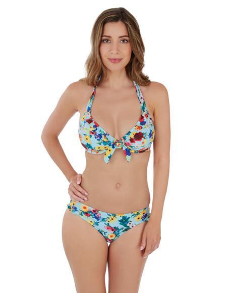 Lepel Flower Power Halter Bikini Top 1680620 - Blue Multi