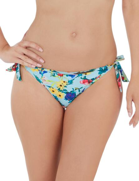 Lepel Flower Power Tie Side Bikini Pant 1680720 - Blue Multi