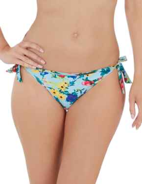 Lepel Flower Power Tie Side Bikini Pant 1680720 - Blue Multi