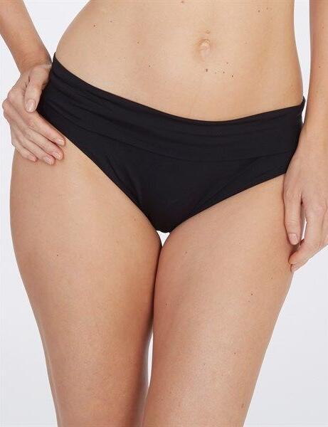 Lepel Lagoon Fold Over Bikini Pant/Brief Black 159779 - Black