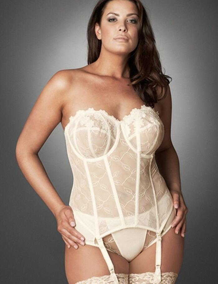 Elomi Bridal Occasions Basque 8202 Ivory Straps/Strapless - Ivory
