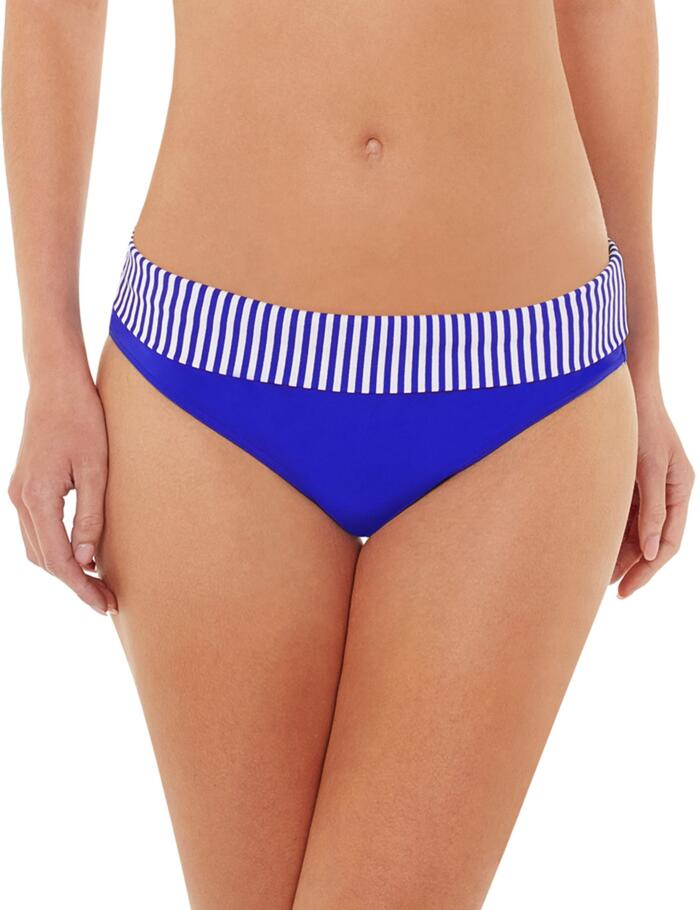Lepel Riviera Fold Top Bikini Pant/Brief 160079 - Blue/White